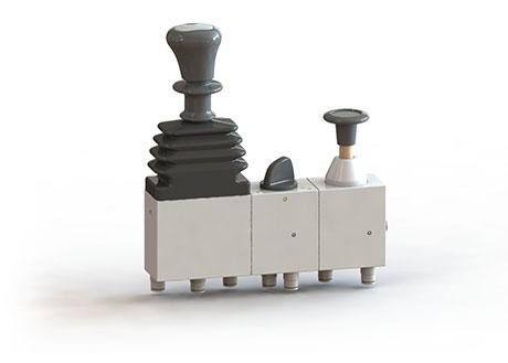 3 way pneumatic control valve
