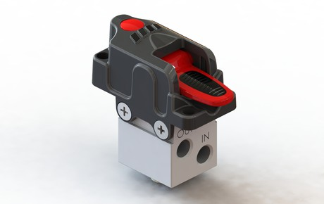 additional air switch for tippers