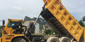 front end cylinder heavy duty mining