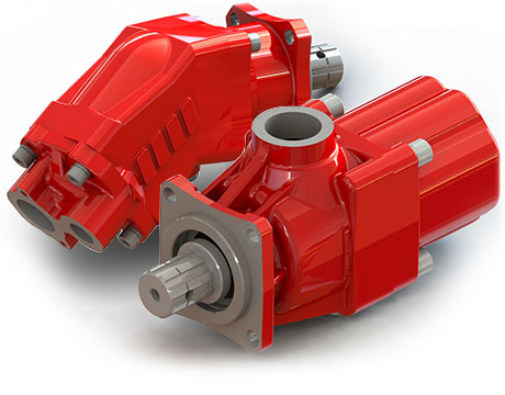 hydraulic piston pumps for tipper