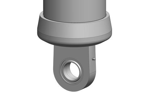 lower bottom eye with spherical bearing
