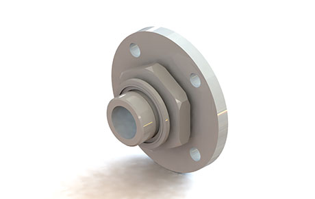 Bride adaptateur pour valve de sécurité