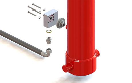 safety valve installation scheme